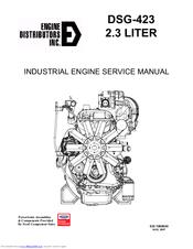 Engine Distributors DSG-423 Manuals