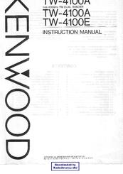 Kenwood TW-4100A Manuals