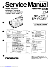 Panasonic NV-VX22 Manuals