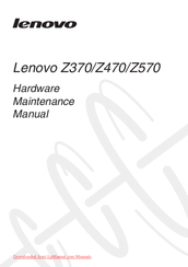 Lenovo IDEAPAD Z570 Manuals