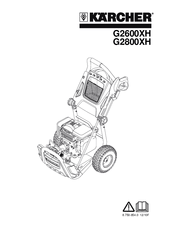Karcher G2800XH Manuals