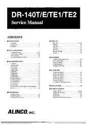 Alinco DR-140T Manuals