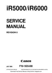 Canon iR6000 Manuals