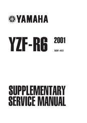 Yamaha 2001 YZF-R6 Manuals