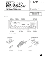 Kenwood KRC-391 Manuals