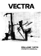 Vectra Fitness On-Line 1270 Manuals