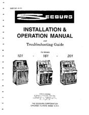 Seeburg 161 Manuals