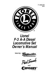 Lionel F3 A-A DIESEL LOCOMOTIVE SET Manuals