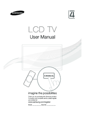 Samsung LA26D400 Manuals