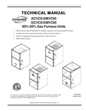 Goodman GMVC950453BXAA Manuals