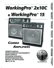 Swr WorkingPro 15 Manuals