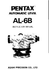 Pentax AL-6B Manuals