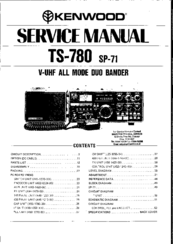 Kenwood TS-780 Manuals
