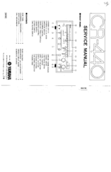 Yamaha CR-440 Manuals