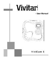 Vivitar ViviCam 5 Manuals