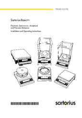 Sartorius BP 221S Manuals