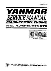 Yanmar 4JH3-HTE Manuals