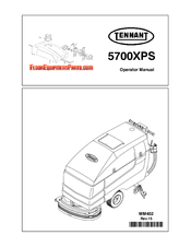 Tennant 5700XPS Manuals