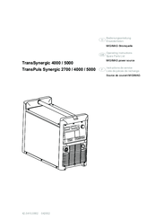 Fronius TransPuls Synergic 2700 Manuals