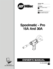 Miller Spoolmatic 30A Manuals