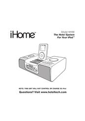 Ihome HiH66 Manuals