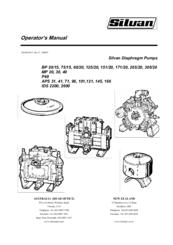 Silvan Selecta BP 60/20 Manuals