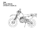 Honda XR650L Manuals