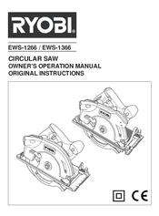 Ryobi EWS-1366 Manuals
