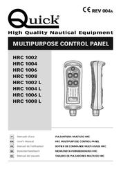 Quick HRC 1002 Manuals