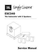 Jbl ESC 340 Manuals