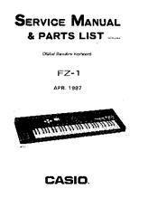 Casio FZ-1 Manuals