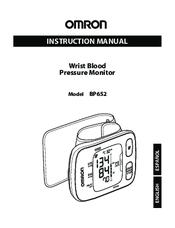 Omron BP652 Manuals
