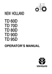 New Holland TD 95D Manuals