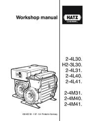 Hatz 2-4M40 Manuals