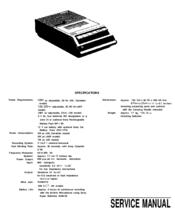 Sony TCM-757 Manuals