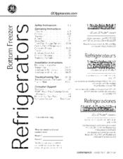 Ge DFE28JSHBSS Manuals