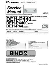 Pioneer Deh P4400 Wiring Diagram Pioneer Free Wiring Diagrams