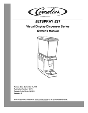 Cornelius JetSpray JS7 Manuals