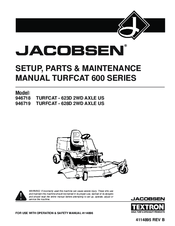 Jacobsen TURFCAT-628D Manuals