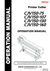 Mimaki CJV150-160 Manuals