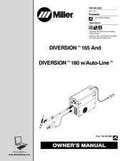 Miller DIVERSION 180 w/Auto-Line Manuals