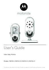 Motorola MBP421 Manuals