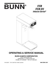 Bunn ITCB-DV Manuals