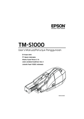Epson CaptureOne TMS1000 Manuals