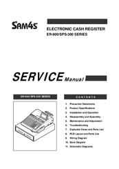 Sam4s ER-900 Series Manuals