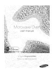Samsung ME16H702SE Manuals