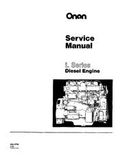 Onan L Series Manuals