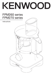 Kenwood FPM260 series Manuals