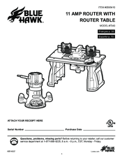 Blue Hawk 7343 Manuals