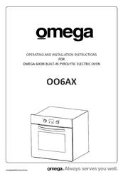 Omega OO654X Manuals